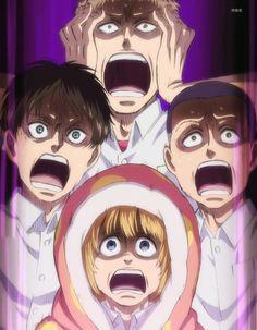 Attack on Titan: Junior High. This episode was hilarious!