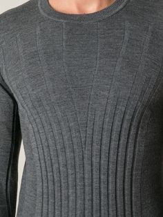 Fendi Fine Knit Ribbed Sweater - O' - Farfetch.com