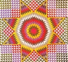 Pieced Quilt Star Of Bethlehem 1889 New York | Flickr - Photo Sharing!