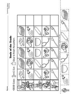 Construction Color by Number #2 | Number worksheets, Math skills ...