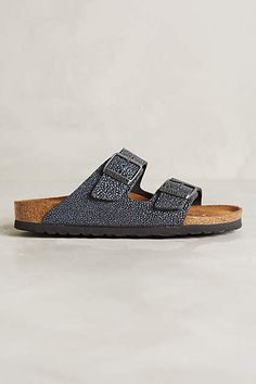 Birkenstock Black Gizeh Ankle Strap Sandals Size EU 38 (Approx. US 8) Narrow (Aa, N) 47% off retail
