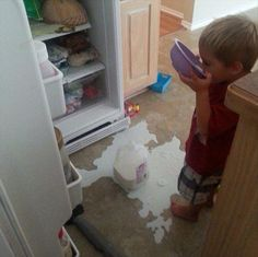 Kids Who Are In So Much Trouble - 25 disastrous photos that will put you off having kids for life