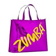 Zumba® metallic tote bag available by special order.  Please send all orders to : Clairegriswold@aol.com