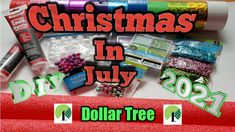 Christmas In July 2021 // Dollar Tree DIYs // Large Candy Cane Lollipops - YouTube Dollar Tree Christmas, Christmas In July, Pool Noodle Crafts, Art Things, Lollipops, Hello Everyone, Candy Cane, Cool Art, Diys