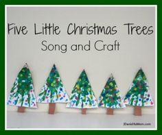 Fun Christmas Hand Print Craft and a Poem