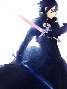 Kirito the black swordsman - By Sword Art Online Kirito and Asuna ღ