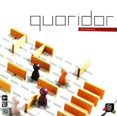 The abstract strategy game Quoridor is surprisingly deep for its simple rules. The object of the game is to advance your pawn to the opposite edge of the board. On your turn you may either move your pawn or place a wall. You may hinder your opponent with wall placement, but not completely block him off. Meanwhile, he is trying to do the same to you. The first pawn to reach the opposite side wins.