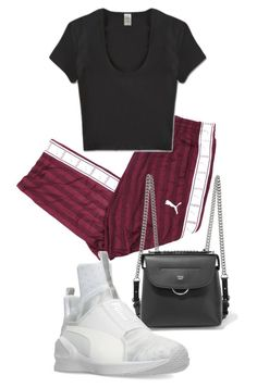"""""""Untitled #22600"""" by florencia95 ❤ liked on Polyvore featuring Fendi and Puma"""