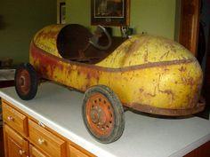 Antique Pedal Car. (racecar)