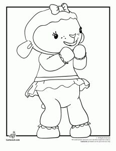 Great link to good coloring pages for Doc McStuffins - there are 6 of them.