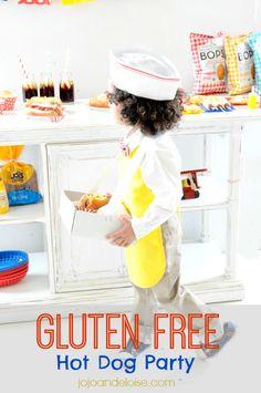 #kids hot dog #glutenfree party jojoandeloise.com