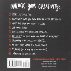Steal Like an Artist: 10 Things Nobody Told Me About the Creative Life:Amazon:Libros en otros idiomas