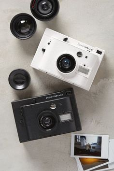 Lomo' Instant Camera & Lens Collection - anthropologie.com #anthrofave