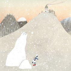 December (illustrations for calendar) on Behance