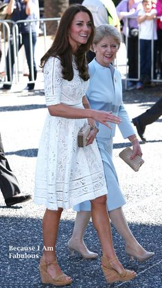 Fabulously Spotted: Kate Middleton Wearing Zimmermann - Sydney Royal Easter Show - http://www.becauseiamfabulous.com/2014/04/kate-middleton-wearing-zimmermann-sydney-royal-easter-show/