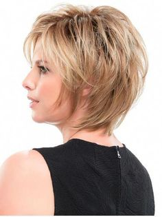 Straight Blonde Synthetic Layered Hairstyles For Short Hair - Hair Styles Short Hairstyles For Thick Hair, Very Short Hair, Short Hair With Layers, Short Hair Cuts, Curly Hair Styles, Cool Hairstyles, Natural Hair Styles, Layered Hairstyles, Pixie Hairstyles