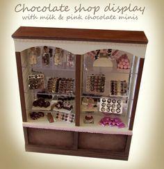 chocolate shop display