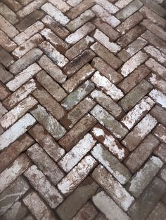 Herringbone reclaimed brick paving going nicely Brick Paving, Brick Path, Landscaping Retaining Walls, Meditation Garden, Herringbone, Firewood, Stepping Stones, Paths, Yard