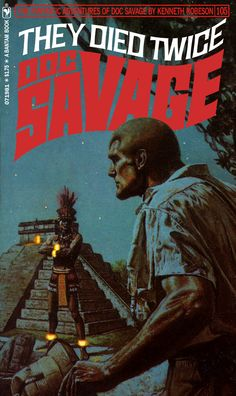 doc savage fantasy covers | Doc Savage Fantasy Cover Gallery