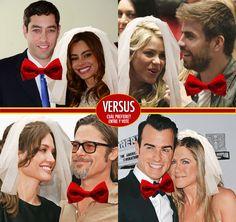 De estas parejas ¿Cuál quiere ver usted celebrando su boda? Vote en nuestro Versus