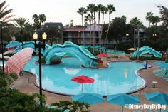 Great photo tour of the Port Orleans Resort French Quarter - check it out if you're thinking about staying there!