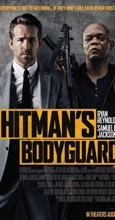 The Hitman's Bodyguard Name : The Hitman's Bodyguard Cast : Ryan Reynolds, Salma Hayek, Samuel L. Jackson Director : Patrick Hughes Writer : Tom O'Connor Release Date : 18 August 2017 (USA) Language : English Size : MB Quality : HD Genres : Action, Comedy Film D'action, Bon Film, Film Movie, John Movie, Films Hd, Comedy Movies, 2017 Movies, Film Trailer, Movie Trailers