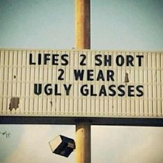 Don't worry...we got you! #lovethewayyoulook #livelifeclearly #news #eyeopeners