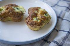 Lchf-morgenmad til folk på farten - broccolimuffins #lchf