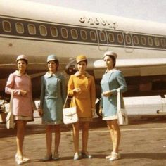 Stewardesses for Iran Air in the '60 - before islamic revolution