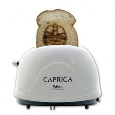 BATTLESTAR GALACTICA Sheldon Big Bang Theory Caprica Graystone Cylon Toaster