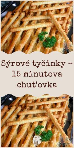 Slovak Recipes, Yummy Food, Tasty, Food Humor, Ham, Waffles, Food And Drink, Appetizers, Pizza