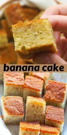 Brunch Recipes, Cake Recipes, Dessert Recipes, Sweet Desserts, Delicious Desserts, Banana Split Cake Recipe, Food Videos, Recipe Videos, Best Sweets