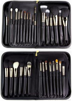 #makeup #brushes #makeupartist #18kGold