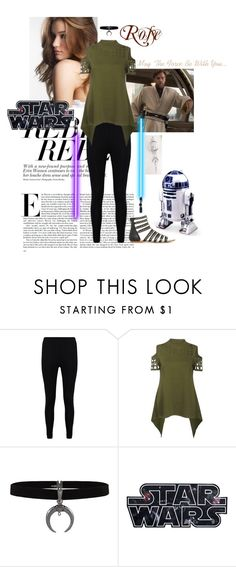 """Untitled #55"" by vicki-hill-1 ❤ liked on Polyvore featuring Boohoo, R2, outfit, OC and starwars"