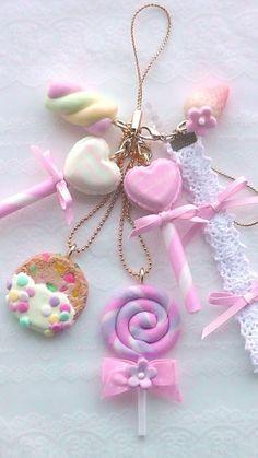 ☆Sweets Suzu☆: polymer clay charm - sweet lolita fairy kei