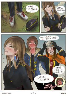 Life Is Strange Fanart, Life Is Strange 3, Blushing Face, Cute Lesbian Couples, Bubbline, Yuri Anime, Anime Furry, Titans Anime, Attack On Titan Anime