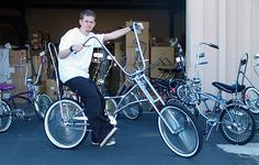 Banana Seat BigWheel Chopper Bicycle For Adults