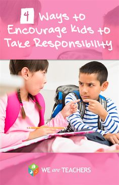 Stop the blame game: Teaching Students to take ownership and responsibility.