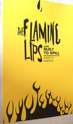 Flaming Lips  Poster Concert $9.84