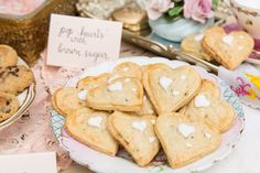 Pop hearts pop tarts by Sweet Cheeks Baking Co.