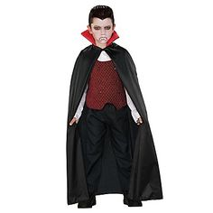 Vampire Cape Halloween Costume