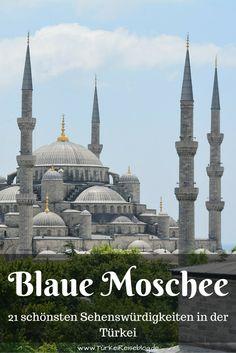 Die Blaue Moschee oder Sultan Ahmet Moschee in Istanbul ist eines der schönsten Bauwerke der Stadt. Meiner Meinung nach gehört sie aber auch zu den schönsten Sehenswürdigkeiten in der Türkei: http://www.tuerkeireiseblog.de/sehenswuerdigkeiten-tuerkei/