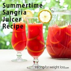 Enjoy a hot summer afternoon than with Sangria and a group of your friends or family with this delicious recipe.