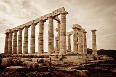Greece, 2008 - Cape of Sounio Temple of PoseidonGreece-002 | Flickr - Photo Sharing!