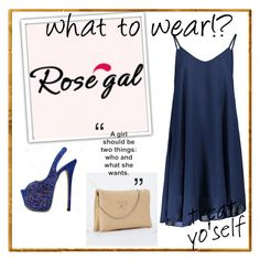 """""""ROSEGAL #16"""" by amina-haskic ❤ liked on Polyvore featuring rosegal"""