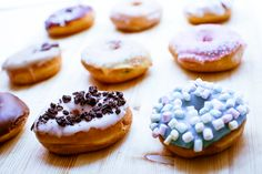 A delicious range of Donuts!