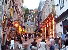 Top 10 things to do in Quebec City.