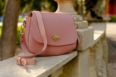 Leather Purses, Leather Bags, Leather Crossbody Bag, Pink Leather, Leather Handbags, Saddle Bags, Minimalist Bag, Photo Bag, Small Crossbody Bag