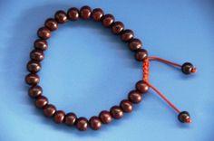 Inexpensive rosewood mala bracelet