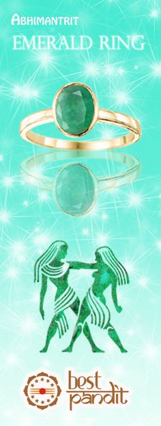 #AajmaKarDekho Emerald bestows upon the wearer with intellectual power, to face all sort of challenges and succeed in difficult situations. It adds to one's  imaginative  caliber and brings about positive mentality. It gives excellent thought process that is required by creative people.http:/www.rashiratan.com